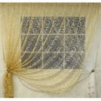 Комплект штор Элиза из жаккардовой органзы