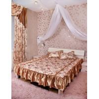 Комплект для спальни со шторами Галина