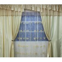 Комплект штор с органзой Виктория